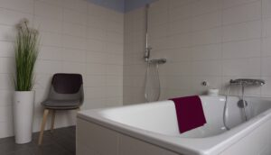 Badezimmer für Pflegepatienten in Intensivpflege WG VitaConSana